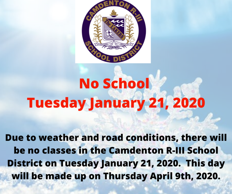 No School - Tuesday January 21, 2020 Featured Photo