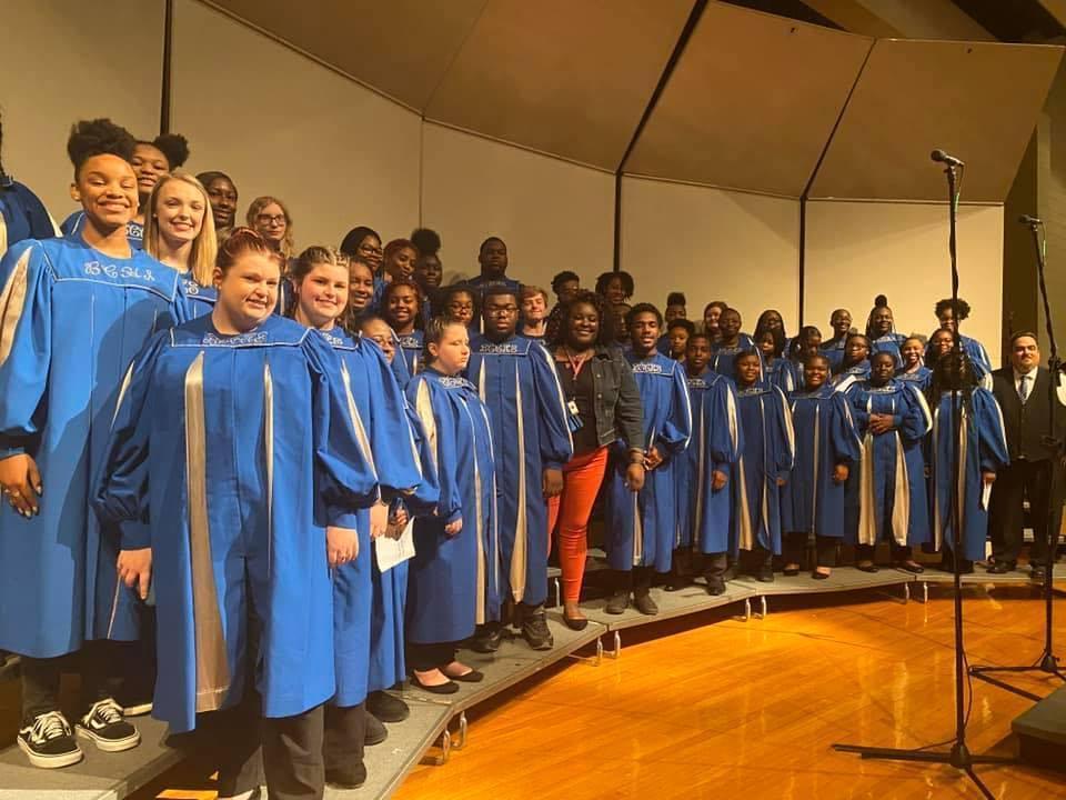 BCHS Chorus Christmas Program 2019-2020 School Year