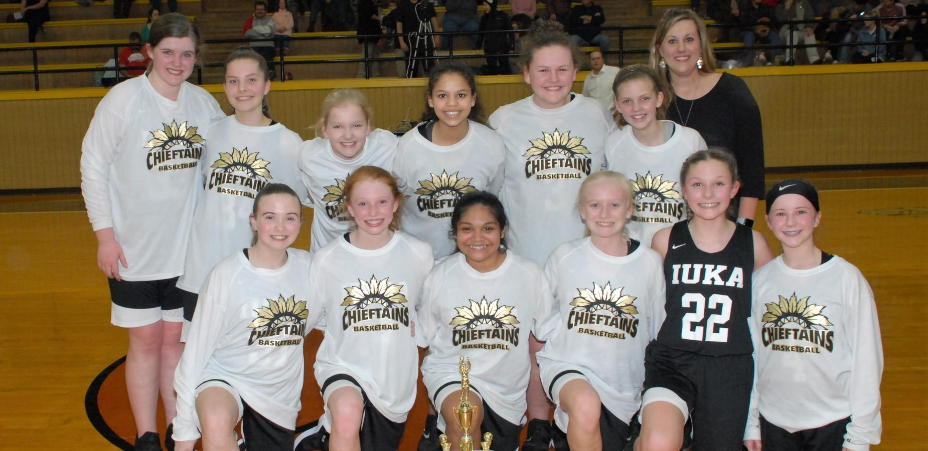IMS Girls Win 7th Grade County Tournament