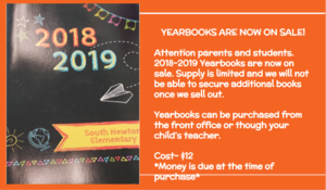 Yearbook Sale Information