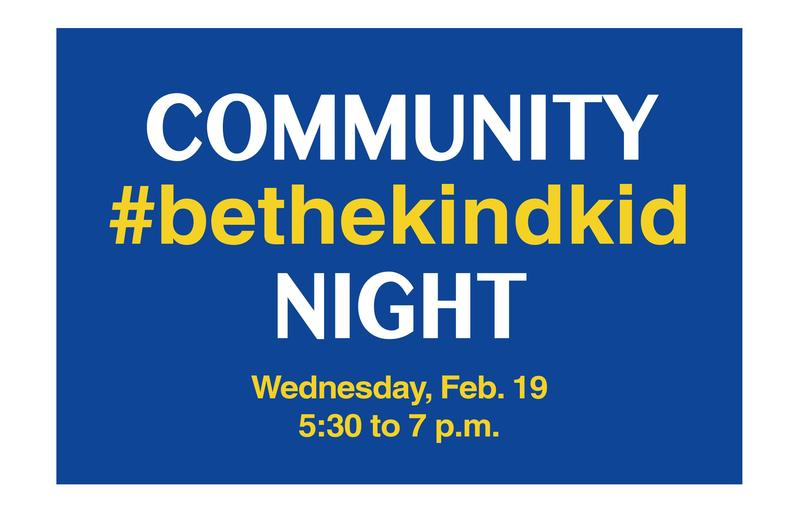 #bethekindkid Community Night
