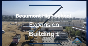 Building  1 of Beaumont High School Expansion