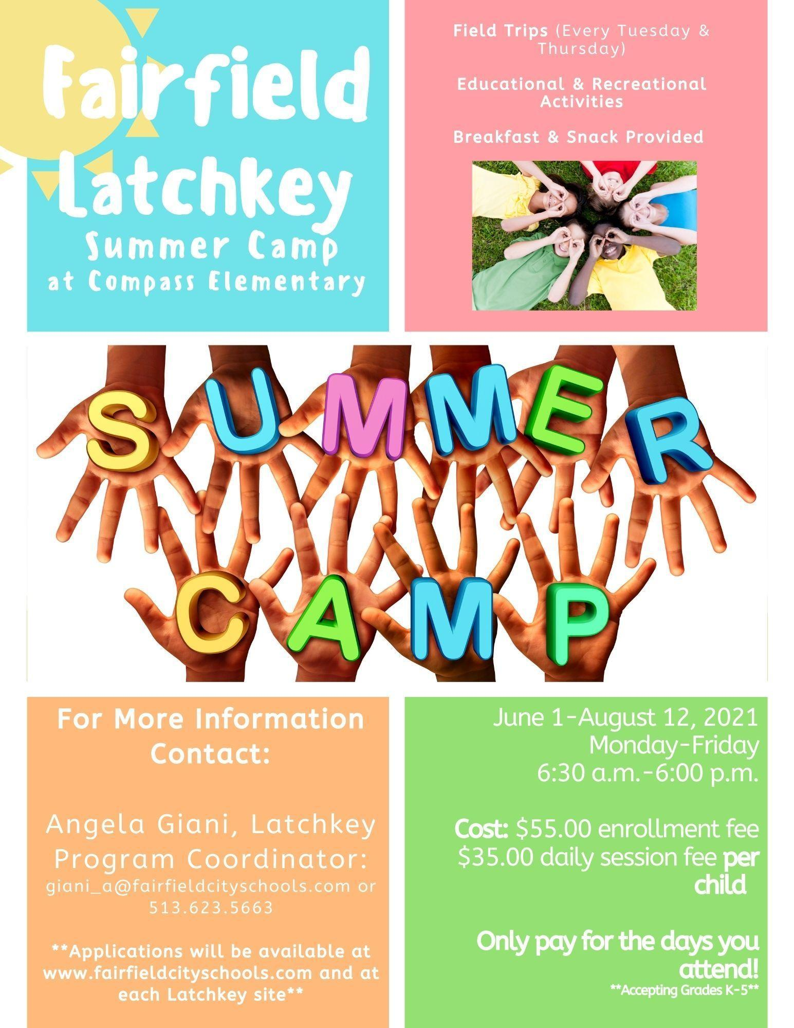 Colorful Summer Flyer