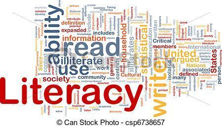Literacy definition poster