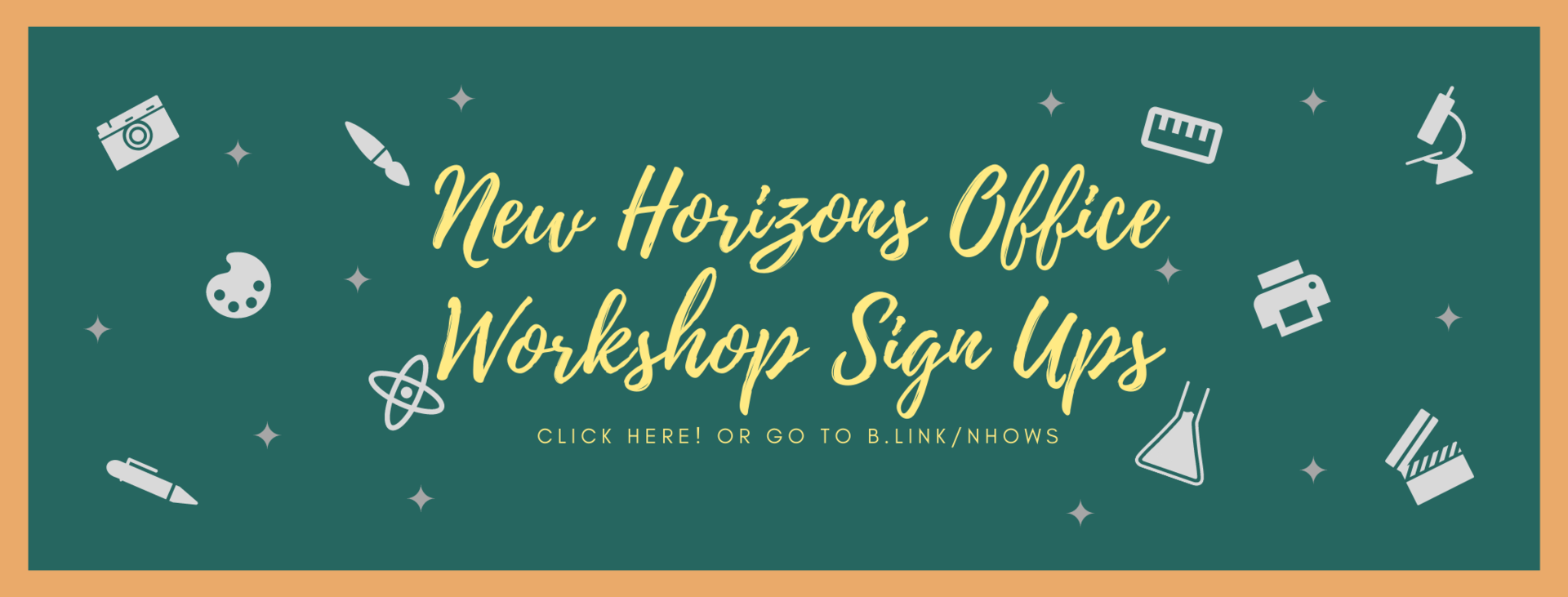 Workshop Sign Ups