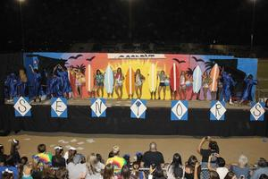 Past Homecoming Float