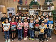 A United Way donation enabled some NW students to get books from the book fair.
