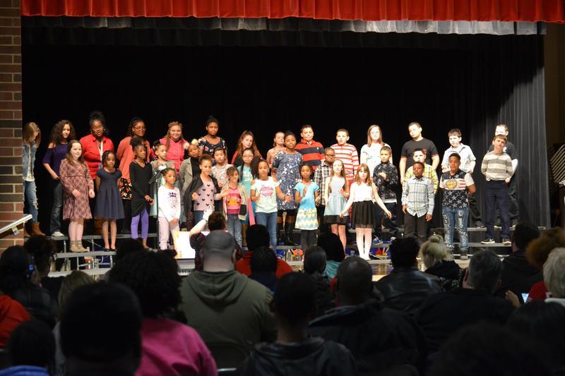 North Choir singing