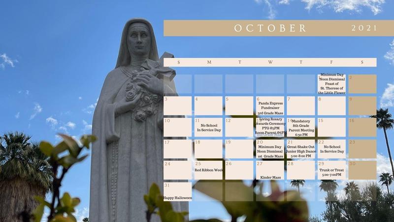 October 2021 Calendar Featured Photo