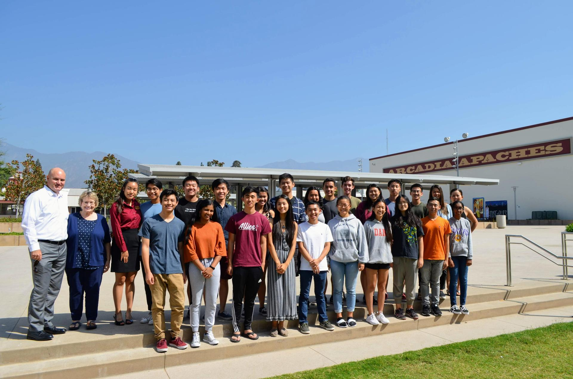 23 Arcadia High Students Named National Merit Scholarship