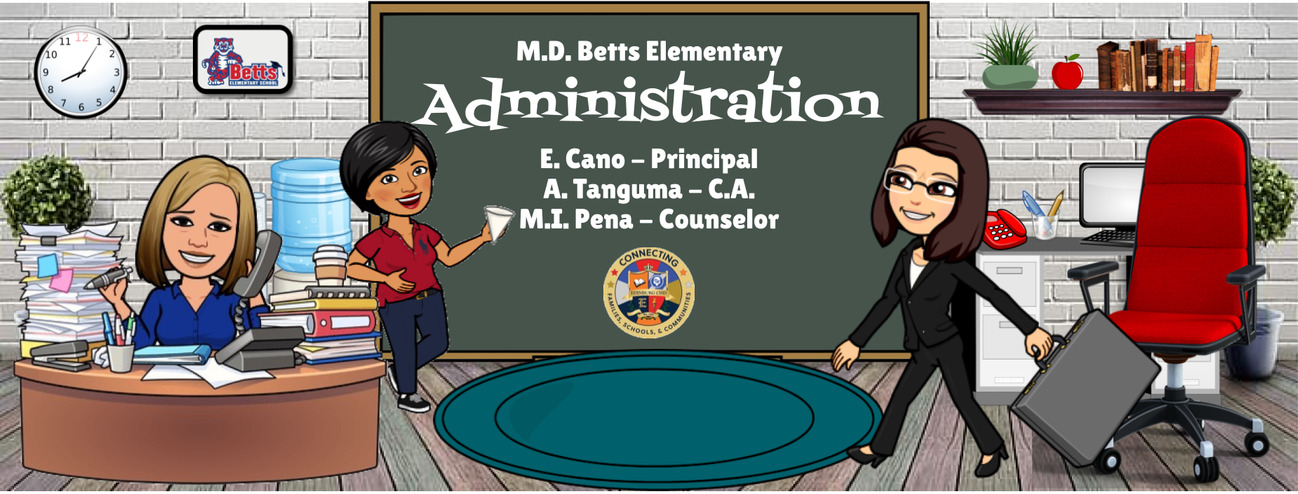 Image of Bitmoji Staff - Administration