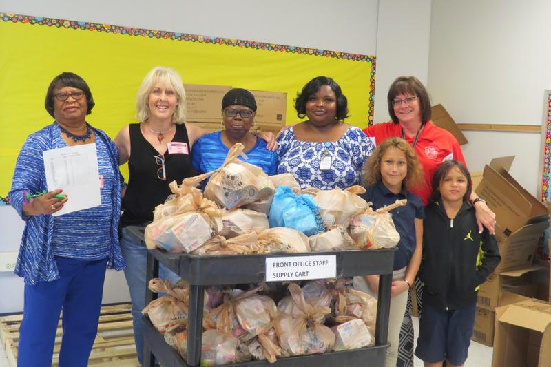 Backpack Buddies Program off to a Great Start in the Jasper County School District