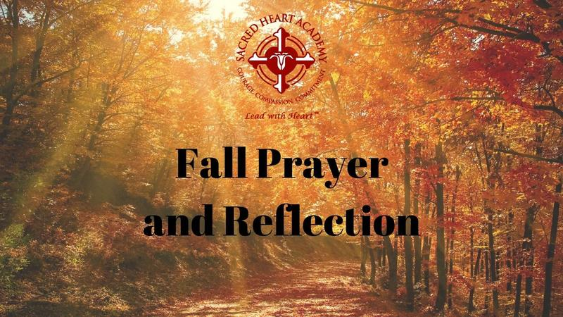 A Reflection and Prayer for the Fall Featured Photo