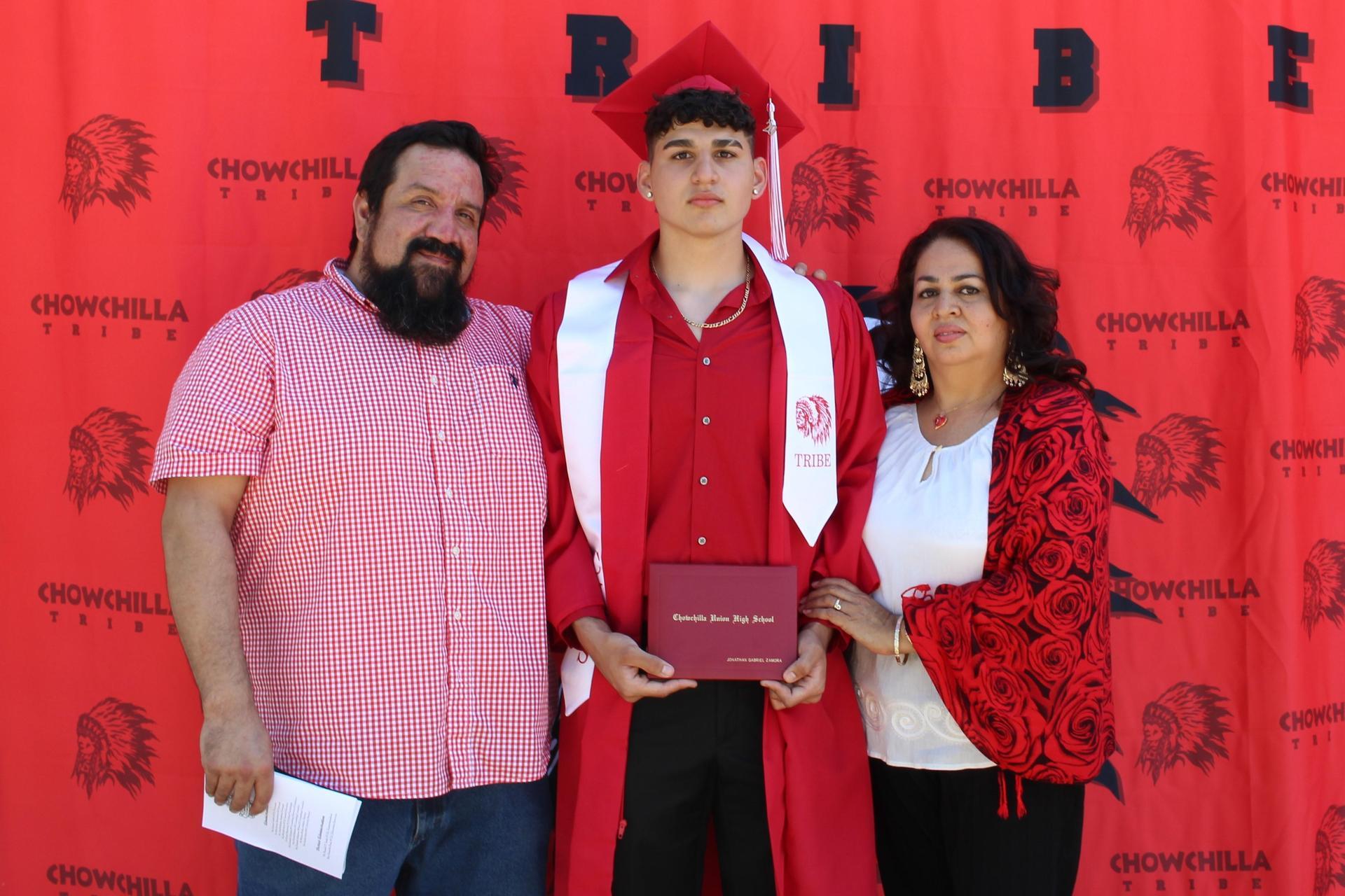Jonathon Zamora and family
