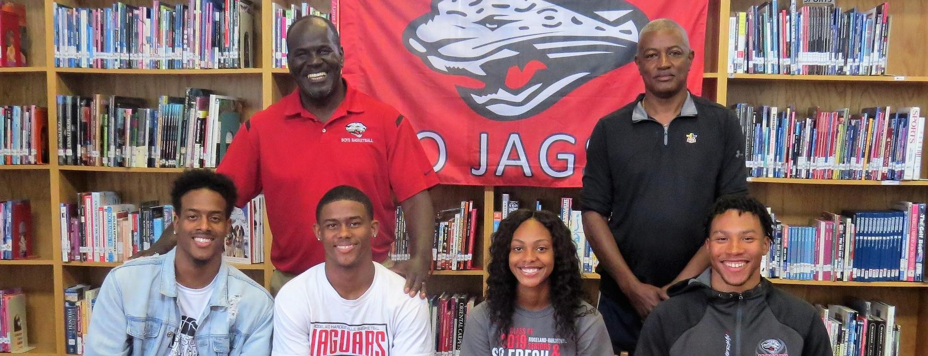 Ridgeland-Hardeeville athletes sign to compete in college