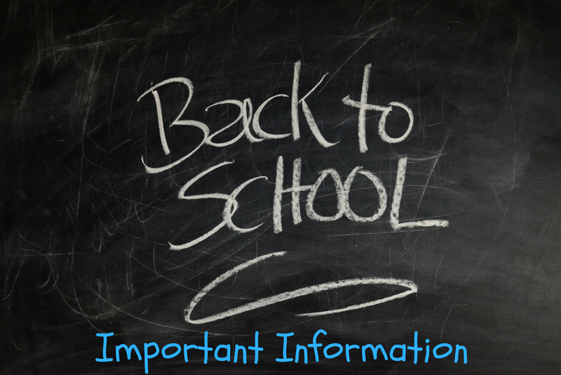 back to school information clip art