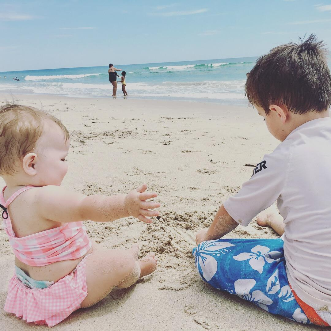 My babies at the beach!