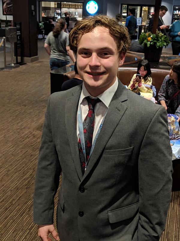 Image of Ethan Link, he FHS junior at Butler Tech who just earned several certifications in IT