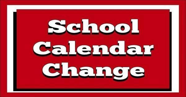 School Calendar Change icon