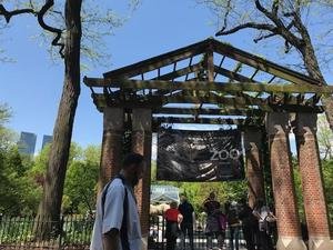 entryway of the Central Park Zoo