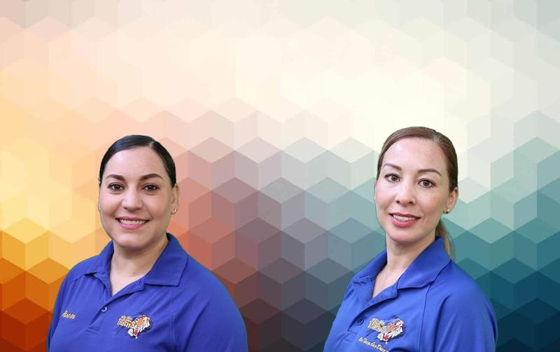 First to make the Tiger Spotlight for the 2019-2020 School Year is Norma Rincon and Amalia Reyes. Thumbnail Image