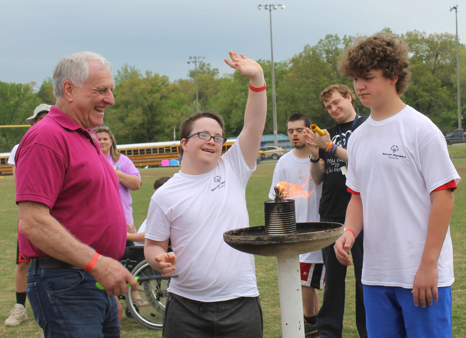 The annual Cheatham County Special Olympics are very inspiring.