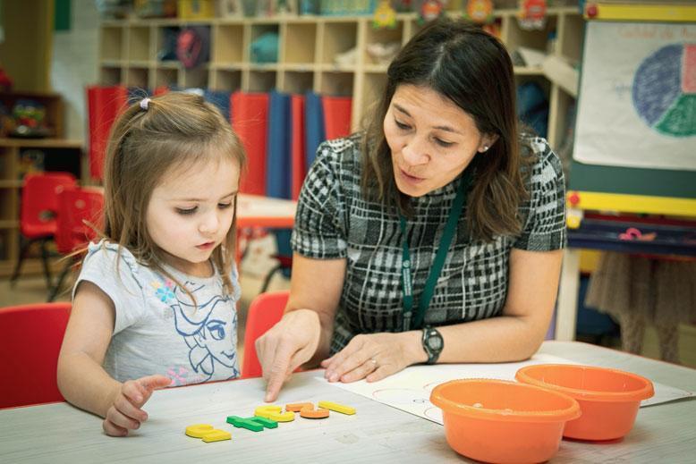 Spanish Immersion Preschool at HudsonWay Immersion School