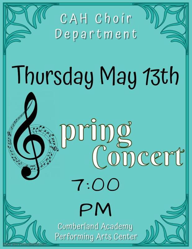 Choir Concert Info Featured Photo
