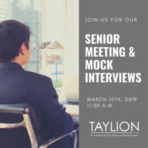 Senior Meeting Flyer