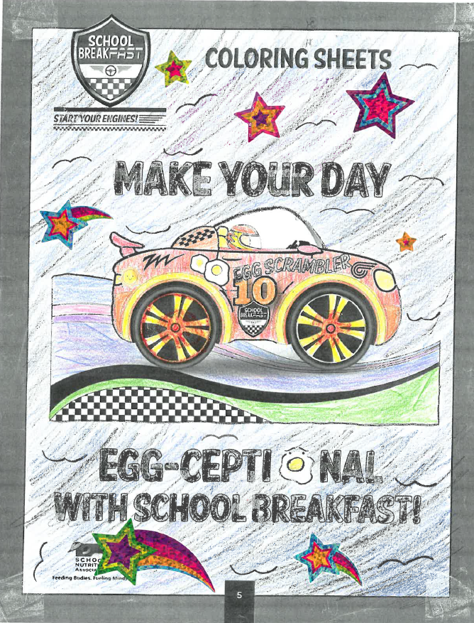 Picture of car for drawing contest