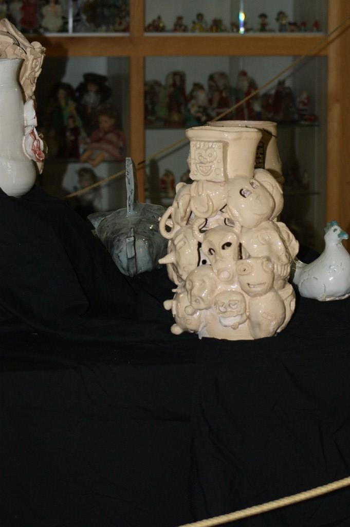 Students ceramic project
