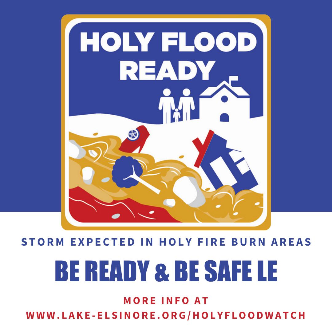 Be Flood Ready logo