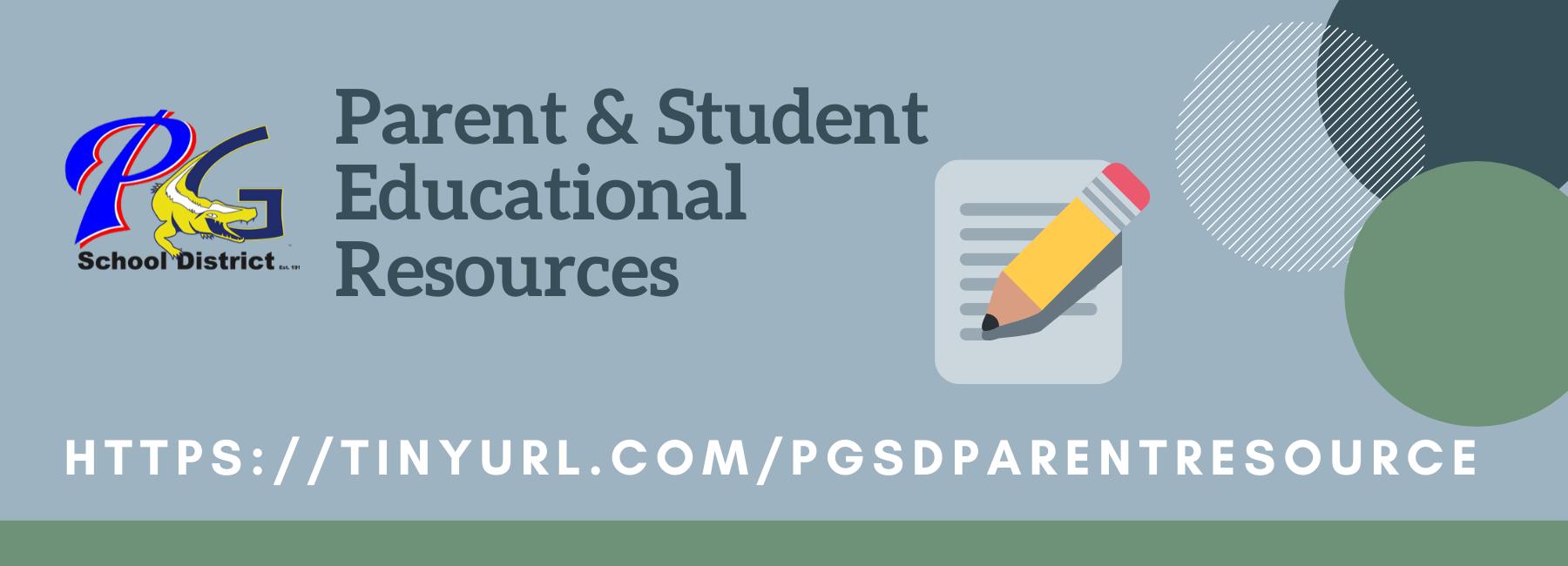 Parent Educational Resources