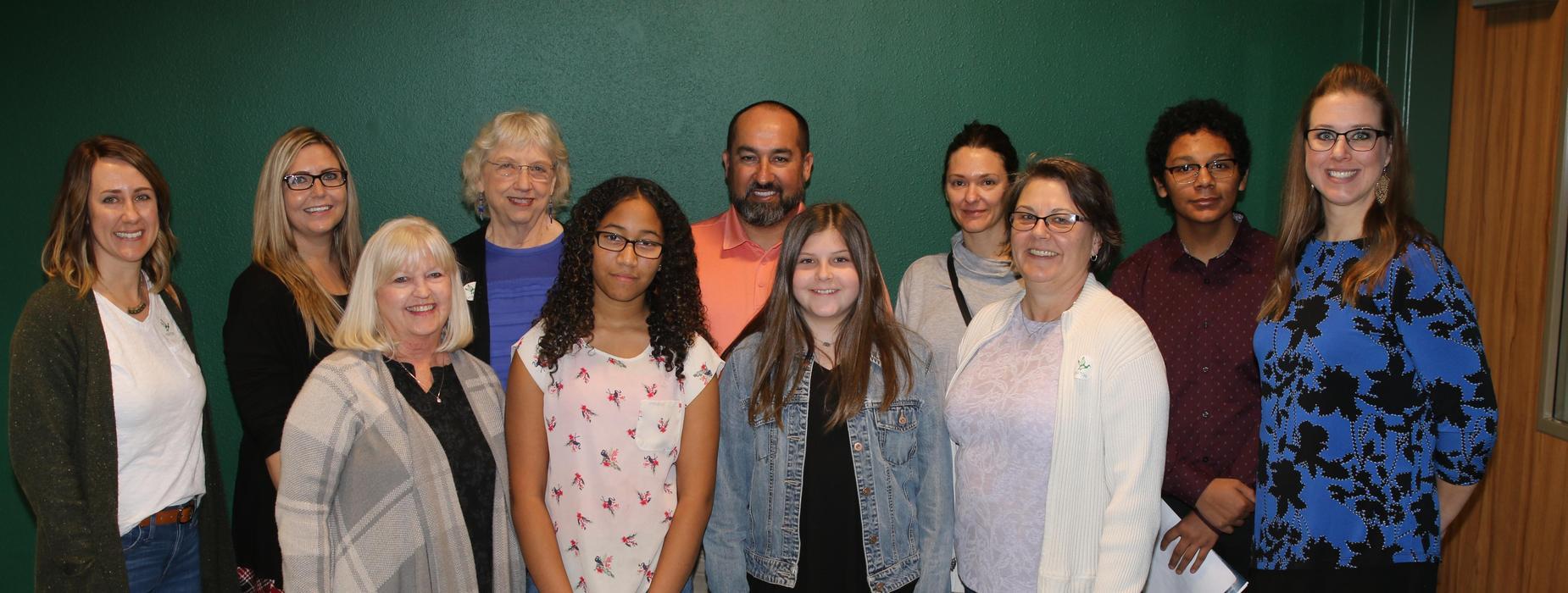 Taylor ISD Ambassadors at TMS.
