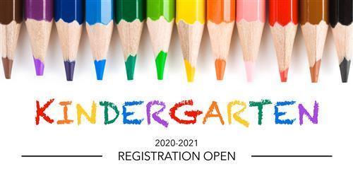 Kindergarten Enrollment for 2020-2021 Thumbnail Image