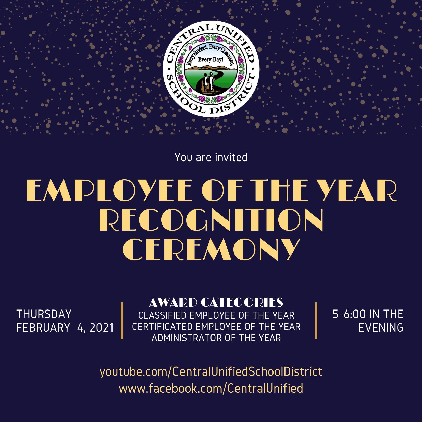 2021 EOY Ceremony