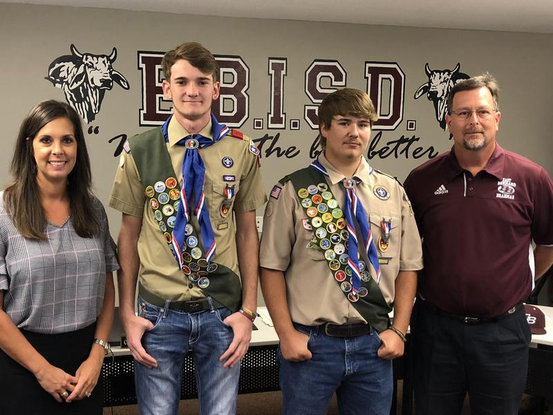 EBHS Students Earn Eagle Scout Rank Thumbnail Image