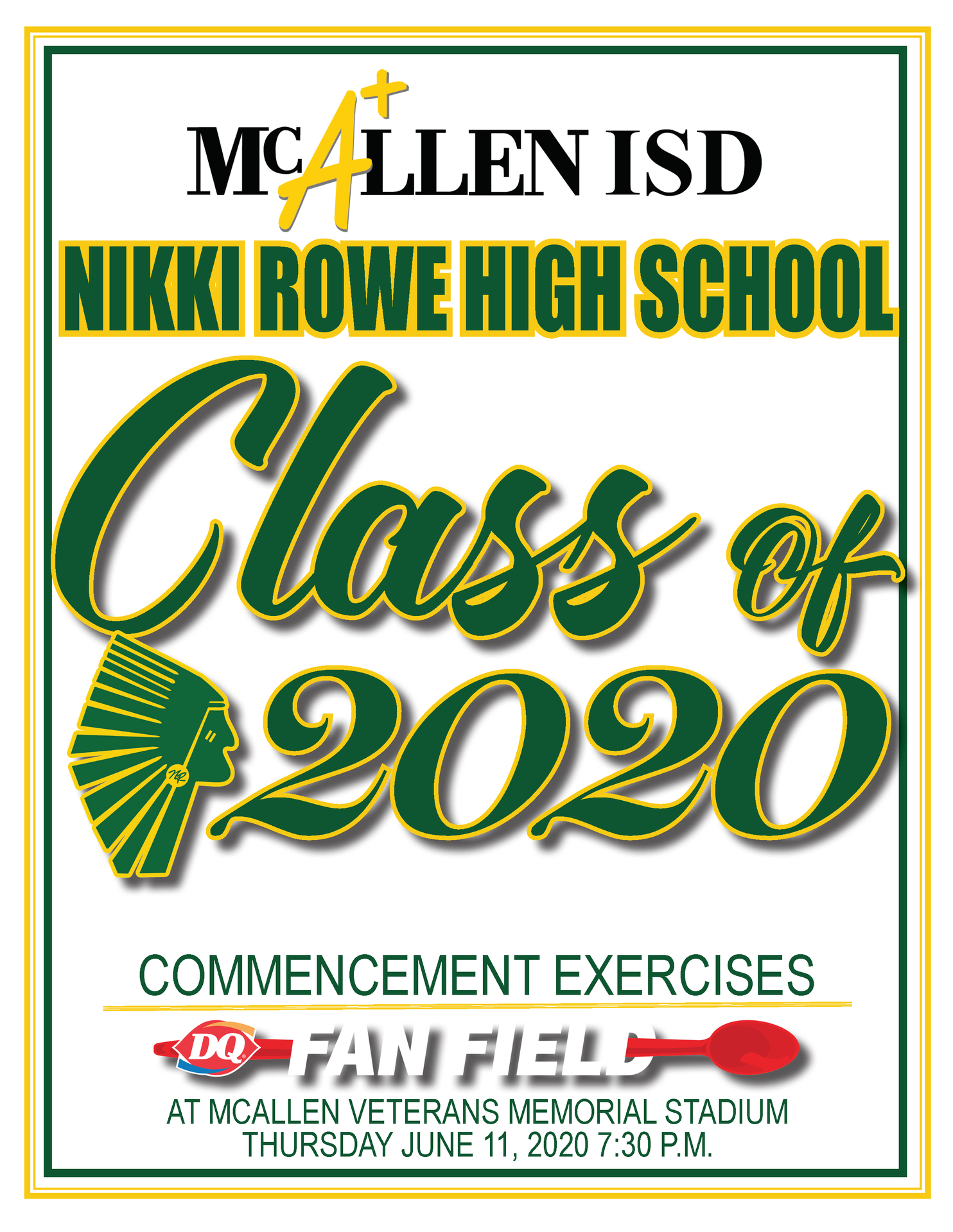 Nikki Rowe High School Graduation