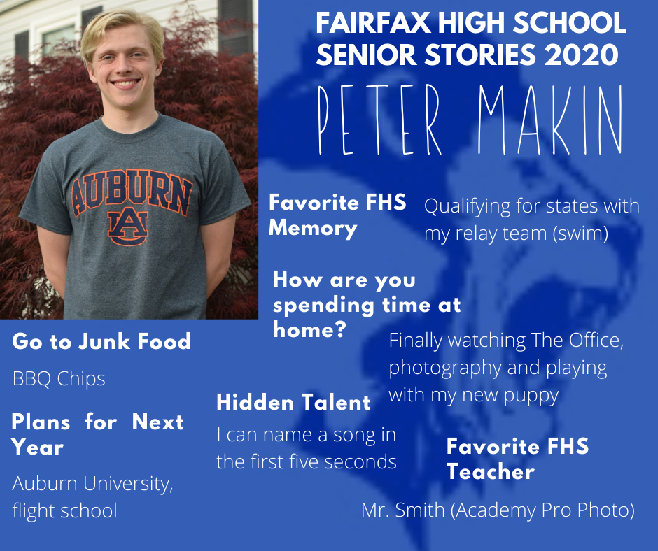Peter Makin graphic and activity list