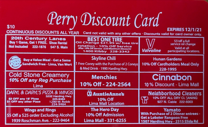 Perry Discount Cards Thumbnail Image