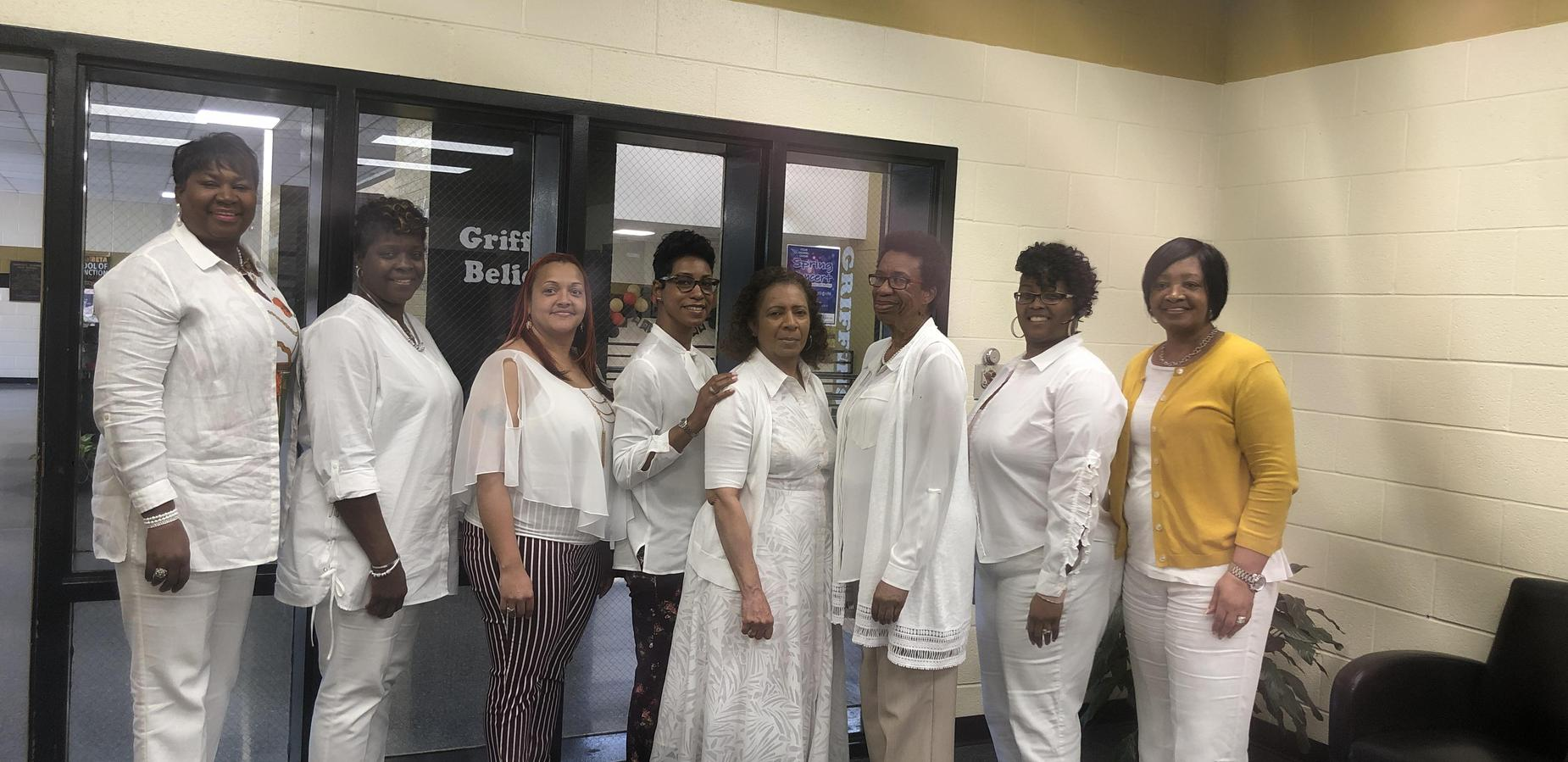 FCHS Admin Professionals in White