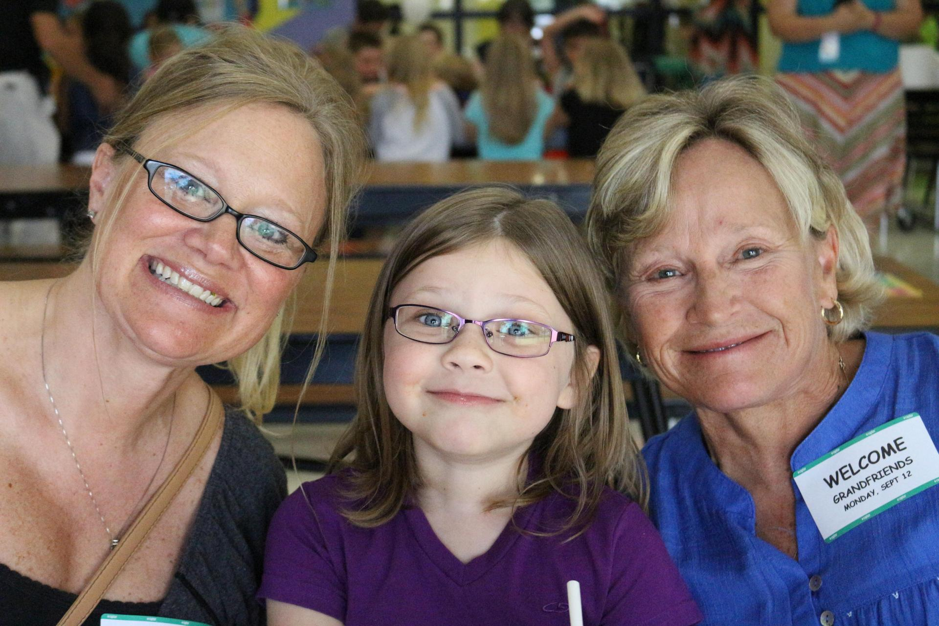 3 generations of girls together