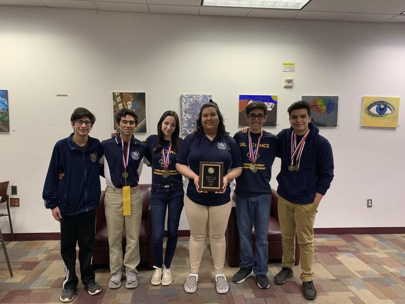 Rembrandt Secondary has once again won the UIL District 32-3A Science Team Championship!!! Featured Photo