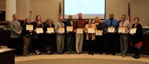 Principals Receive Awards for Meeting Expected Growth