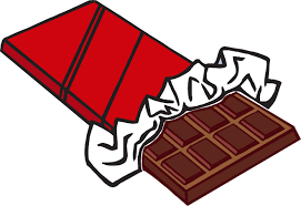 cartoon picture of a candy bar
