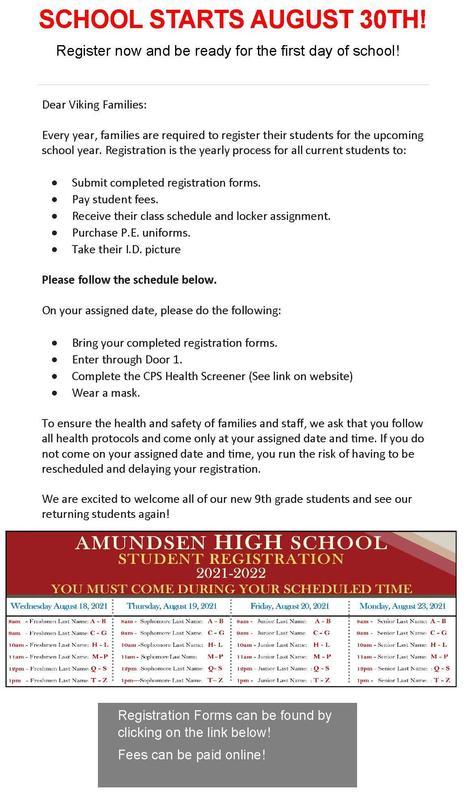 2021-22 School Year Registration Information Featured Photo