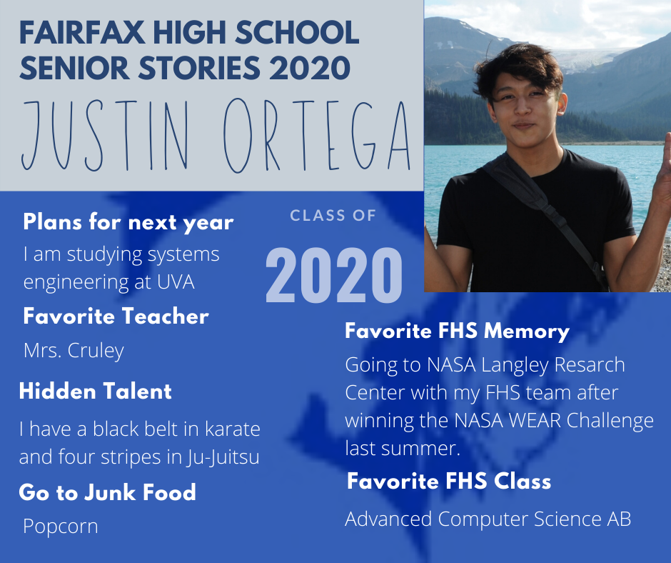 Justin ortega photo and list of activities