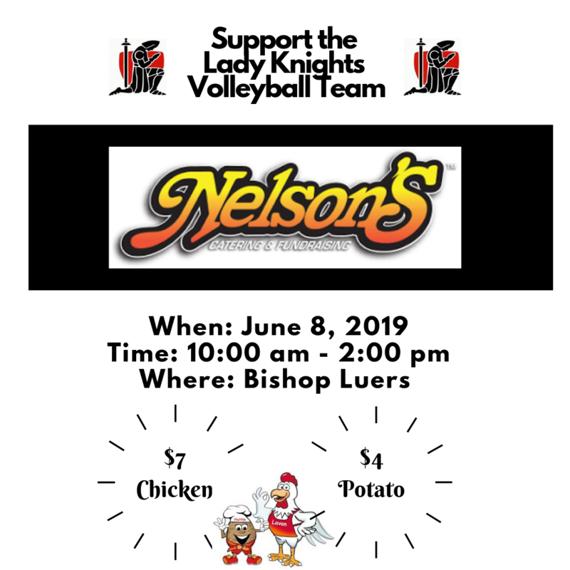 Lady Knights Volleyball Team Fundraiser Thumbnail Image