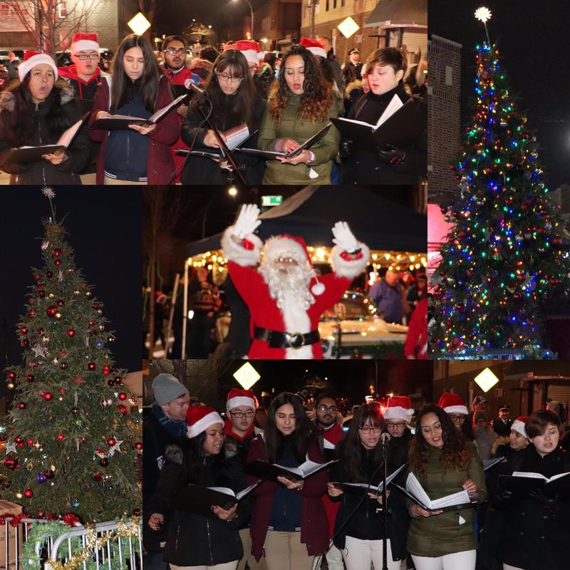 Maspeth High ArgoNotes Perform At Glendale Tree Lighting Featured Photo
