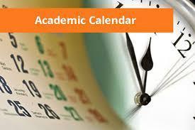 2021 - 2022 Preliminary Academic Calendar Featured Photo
